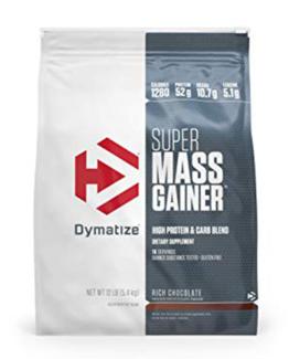 DYMATIZE SUPER MASS GAINER 12LBS