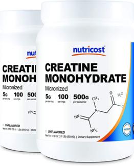 Nutricost Creatine Monohydrate (Creapure®) Powder