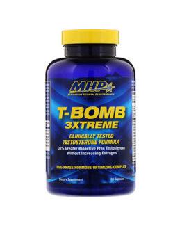 MHP, T-Bomb 3Xtreme, 168 Capsules