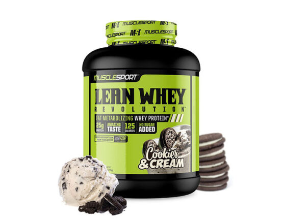 Musclesports Lean Whey 5lbs