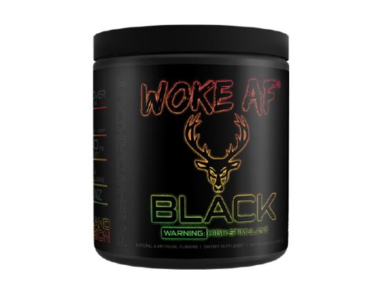 BLACK WOKE AF High Stimulant Pre-Workout